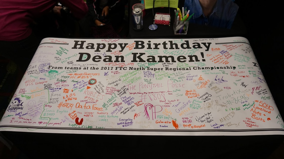 Dean Kamen card