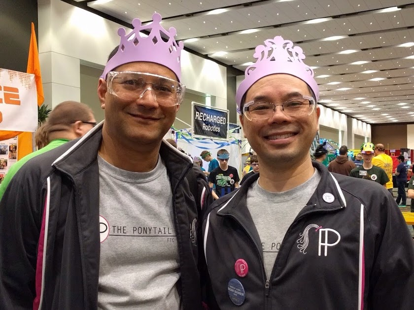 Coaches with tiaras